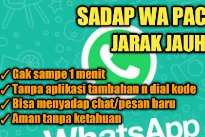 Cara Sadap WhatsApp Pacar Jarak Jauh Tanpa Ketahuan