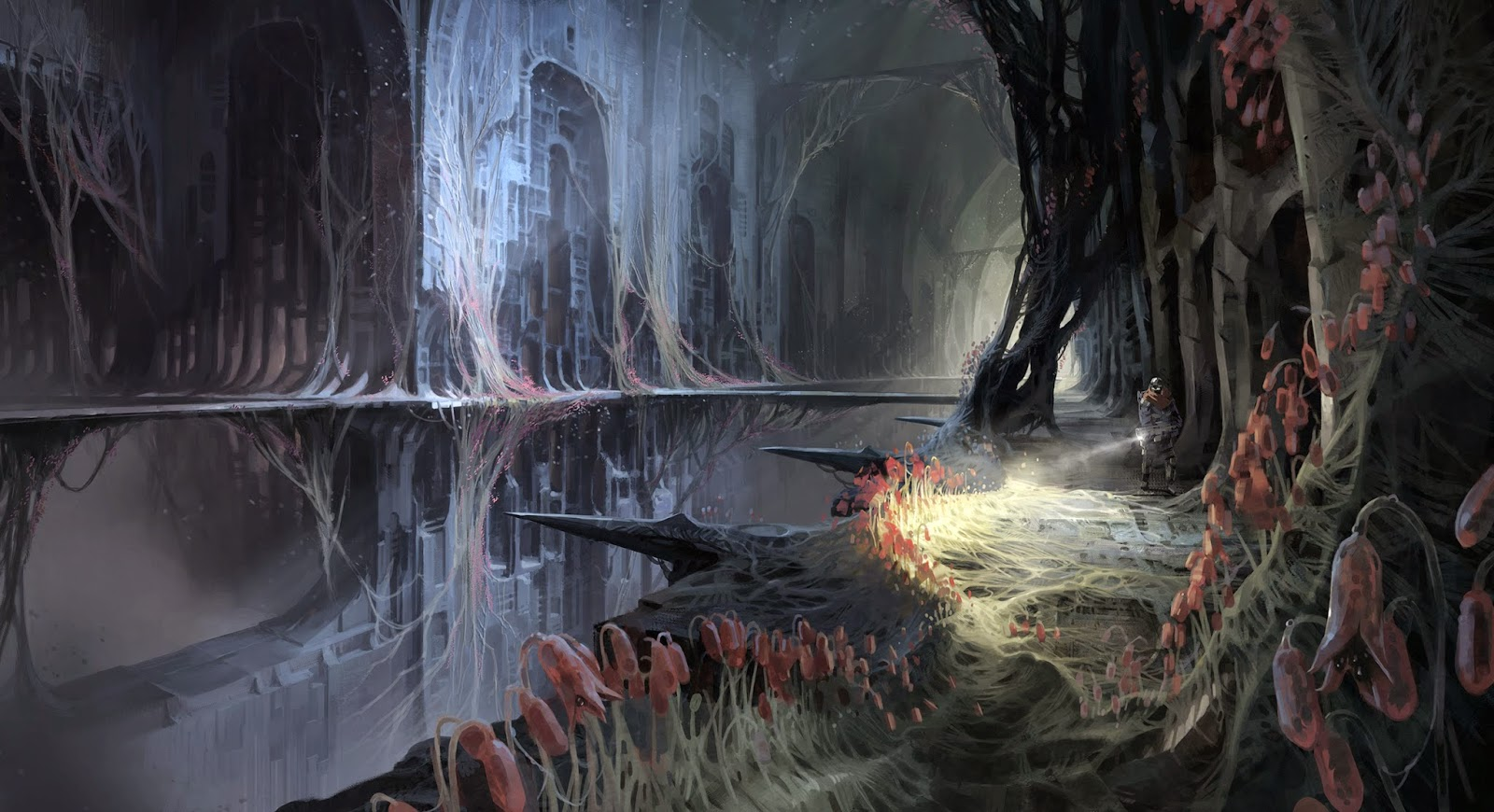 catacombs destiny art