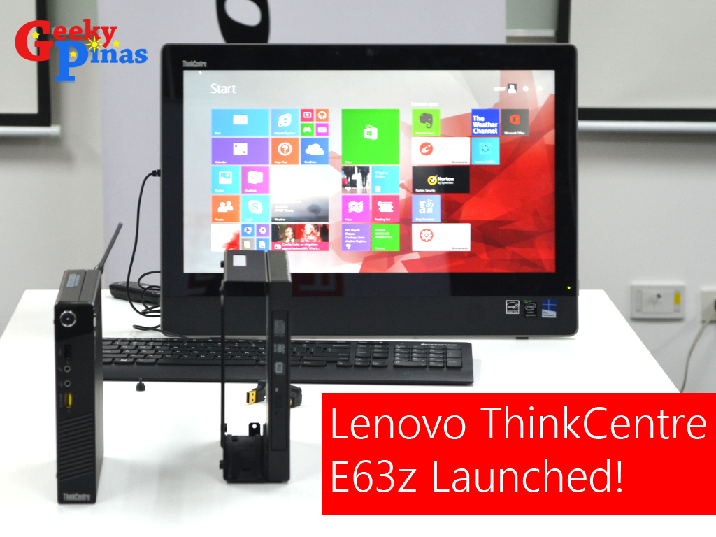 Lenovo ThinkCentre E63z Launched: Slim and Performance Packed AIO
