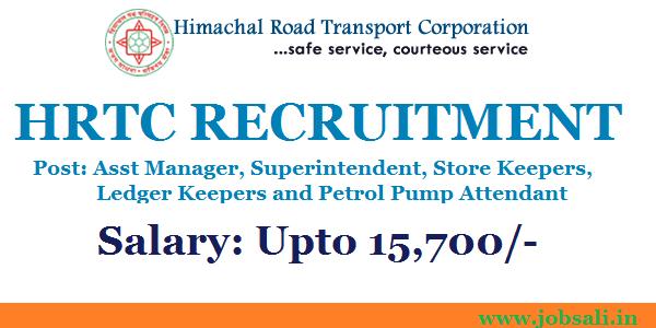 Jobs In Hrtc, Government jobs In Himachal, HRTC Online application