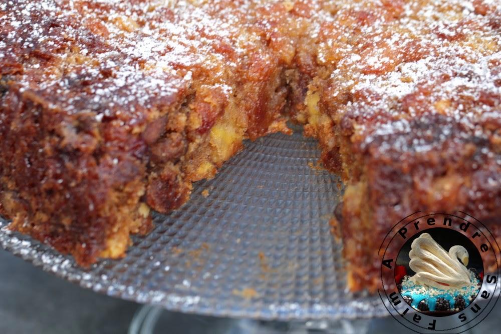 Cake Aux Noix Et Aux Pommes