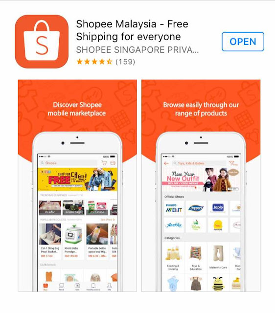 review apps shopee