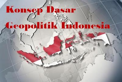 Konsep Dasar Geopolitik Indonesia