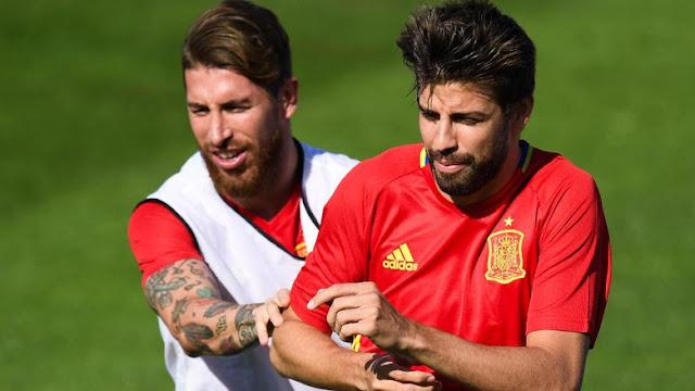 Tengilnya Ramos, Kirim Undangan Nonton Langsung Final Liga Champions ke Pique