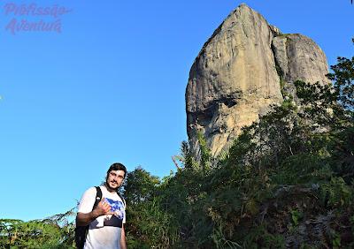 Face do Imperador na Pedra da Gávea