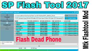 SP Flashtool New Version 2017 | Mtk Flash Tool MOD | Latest Version | Flash Dead Mtk Phone | Hindi