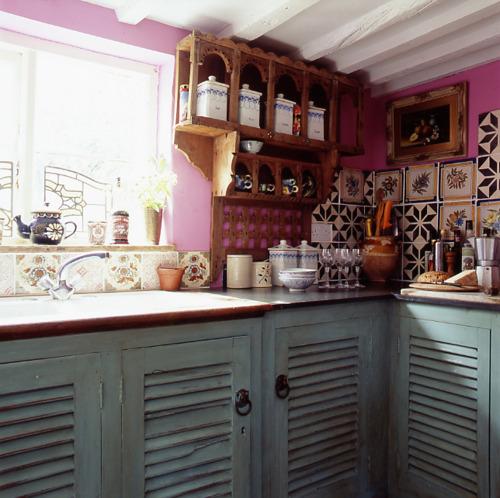 Moon To Moon: Bohemian Kitchen Interiors