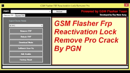 ADB Bypas GSM Flasher ( FRP Tool) Latest Version Full Crack Setup Free Download