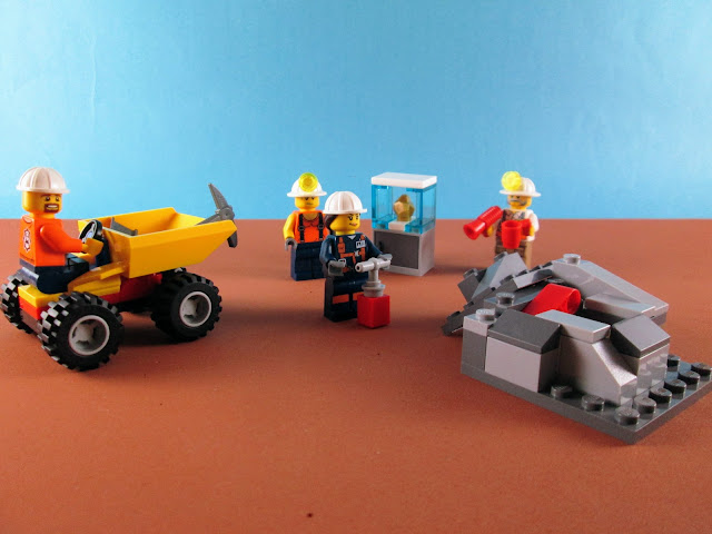 Set LEGO City 60184 Mining Team