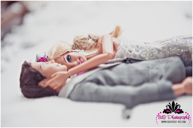 Trash the dress: Barbie e Ken