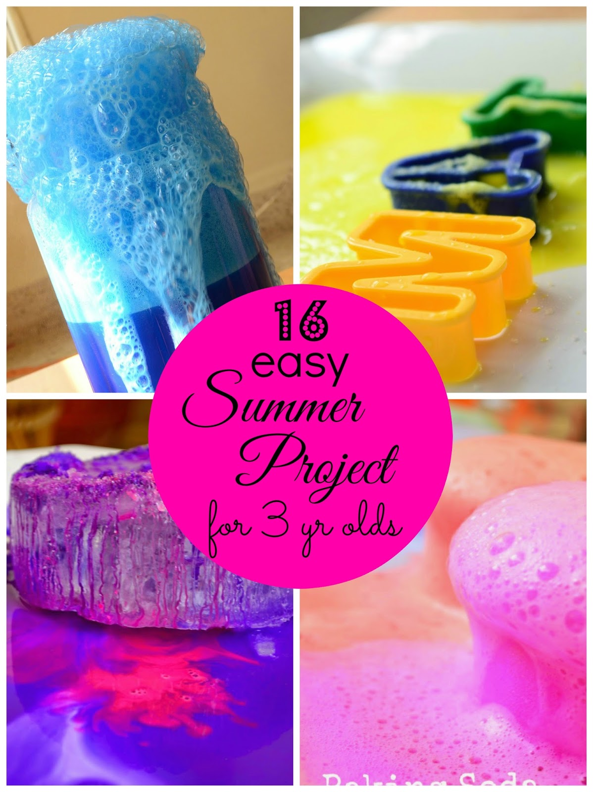 Practical Mom 16 Easy Summer Projects For 3 Year Olds