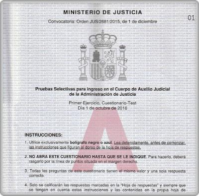 1%2Bejercicio Examen y Respuestas Auxilio Judicial 2015