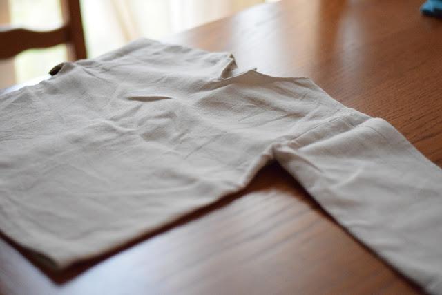 mon coin couture, Maud Vadon, C'est un garçon, rentrée, pantalon, tunique col claudine, patron maison,