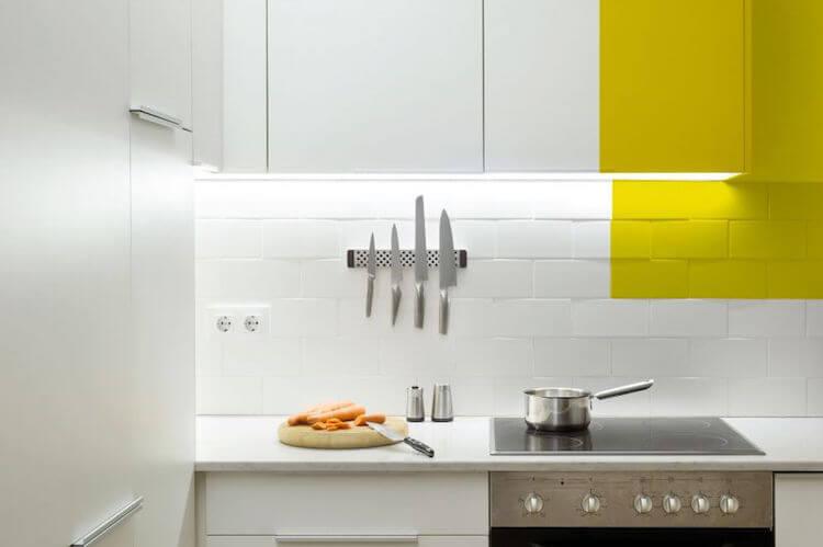 cocina muebles pintados