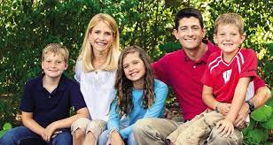 Paul Ryan Family Wife Son Daughter Father Mother Age Height Biography Profile Wedding Photos
