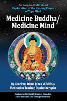 Cover of book Medicine Buddha/Medicine Mind parallels of Neuroscience and Visualization Meditation