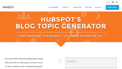 HubSpot Blog Generator