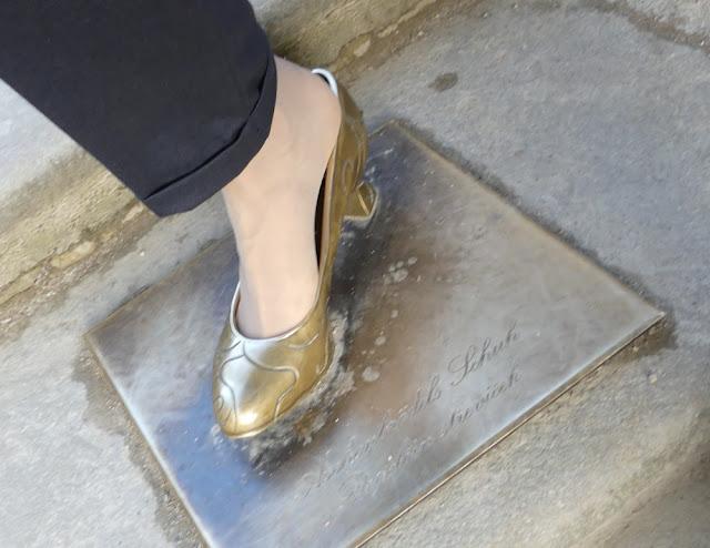 Aschenbrödels Schuh - oder eher nicht... ;-)