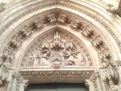 Puerta del Nacimiento Catedral Sevilla