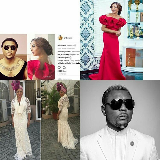 Oritsefemi reportedly got married yesterday, see wife's photos