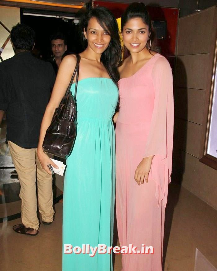 Dipannita Sharma, Parvathy Omanakuttan, Dipannita Sharma, Parvathy Omanakuttan Pizza Movie Screening Pics