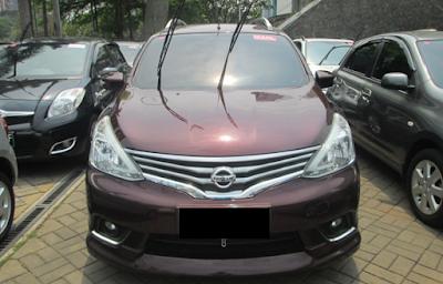 Eksterior Nissan Grand Livina Facelift