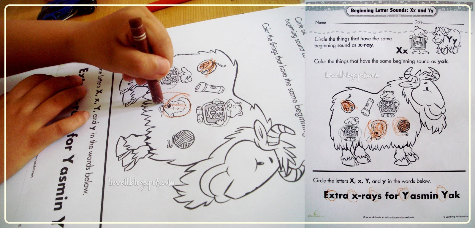 Preschool Letter Z
