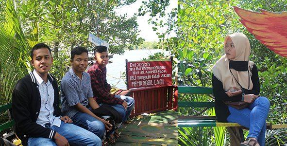 Wisata baru mangrove banua pangka