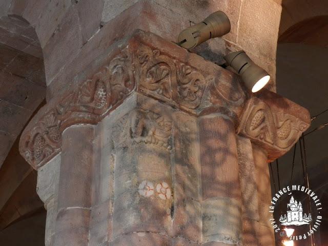 KAYSERSBERG (68) - Abbatiale romane d'Alspach