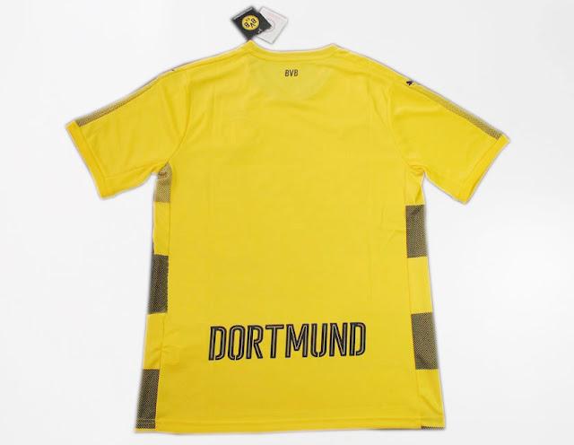 New 2017-18 Borussia Dortmund Home Soccer Jersey Football Shirt T-Shirt