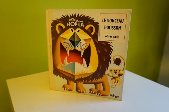 livre pop up années 60 , collection Hop-La / Odège  60s pop up book 1960s