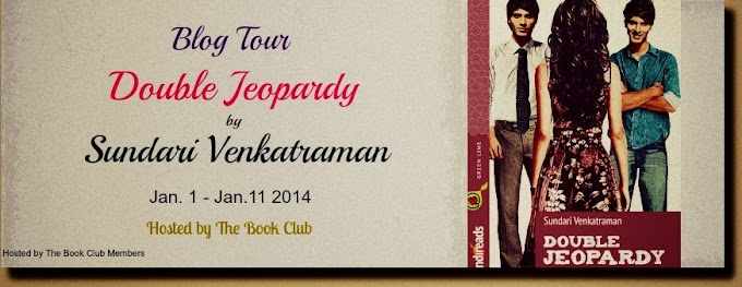 Blog Tour: Double Jeopardy by Sundari Venkatraman