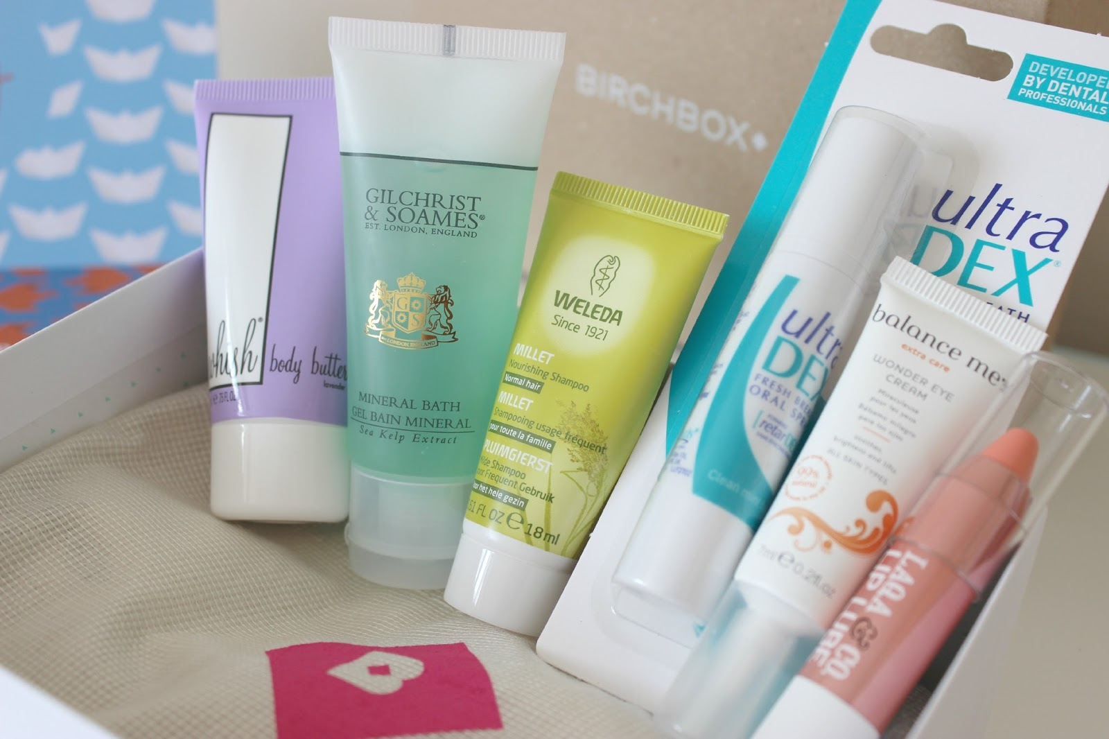 A picture of the July Sun, Sea & Sand Birchbox