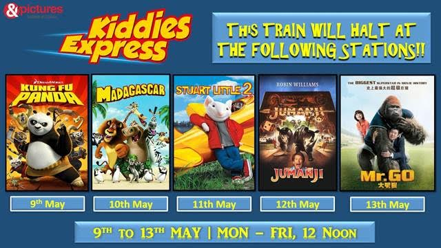 'Kiddies Express' this summer only on &pictures!