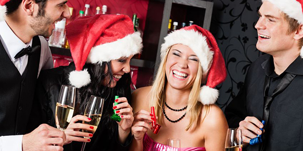 Christmas party header