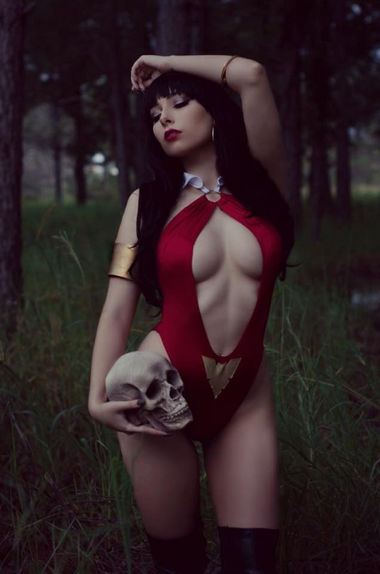 Heropress Cosplay Goddess Becky Jacoba Young