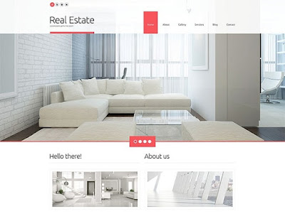 Light Real Estate Agency Responsive WordPress Theme