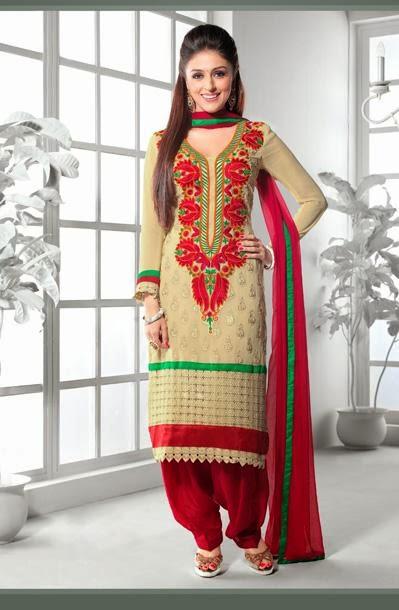 Punjab Trip Designer Punjabi Suits Design 2014