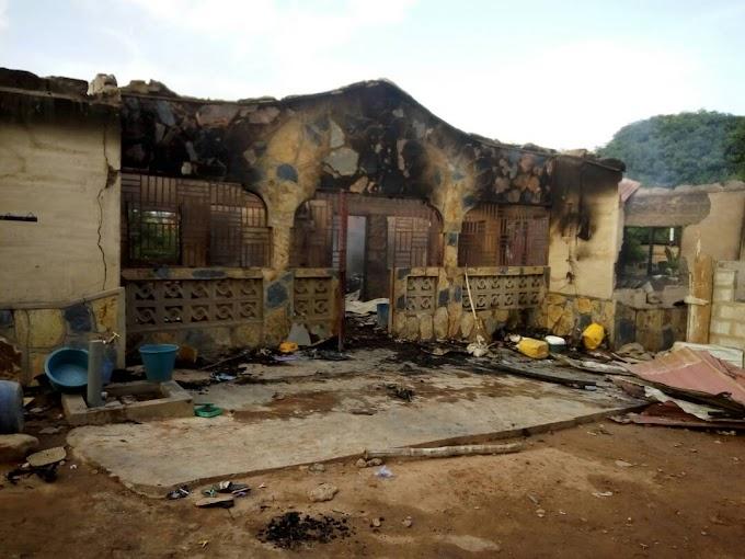 Fire destroys teacher's 6-bedroom house in Eastern Region