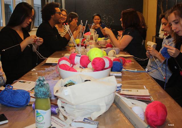 Les blogueurs tricotent