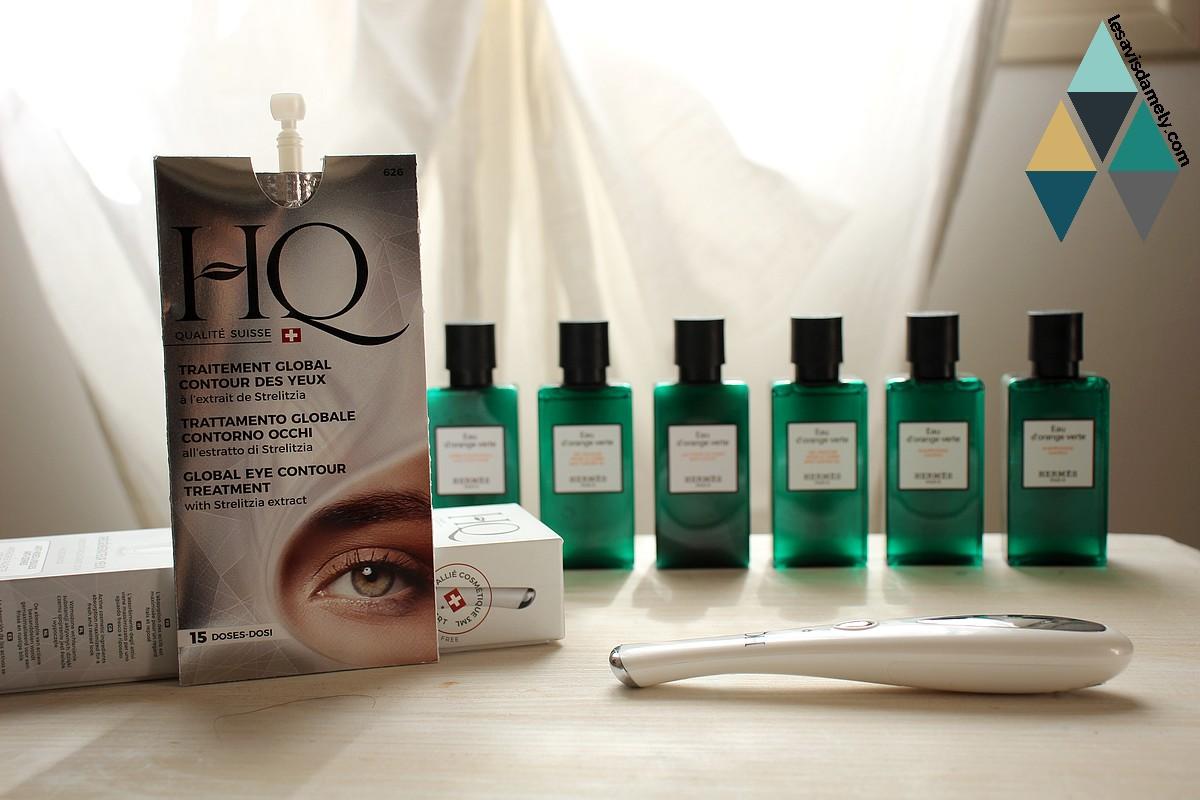 revue beauté régénérateur yeux contour des yeux HQ traitement