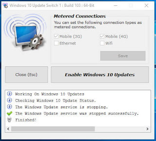 Windows 10 Update Switch 1.0.1.292 + Portable