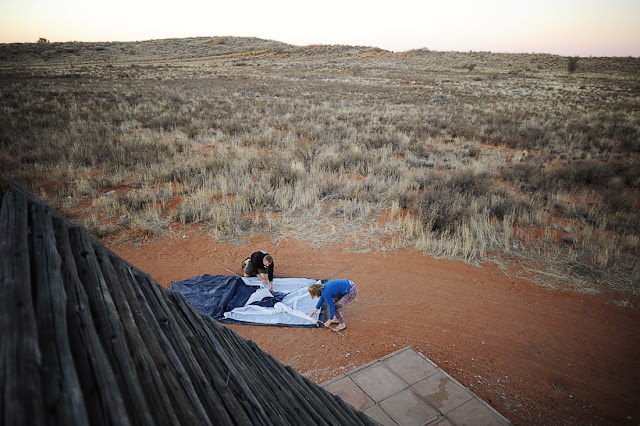 Kampiranje, južna afrika, Kgalagadi park