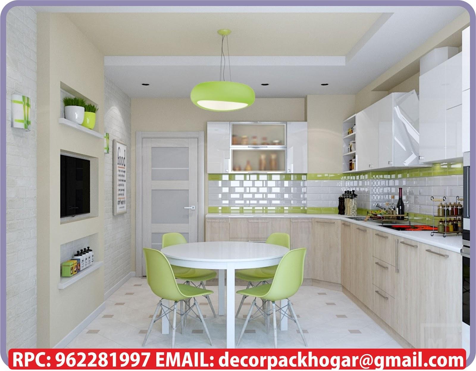 Dise os fabricacion de closet cocina y muebles de oficina - Cocinas modernas de 9 metros cuadrados ...