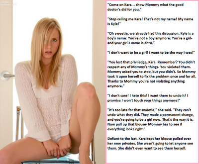 feminization hypnosis captions
