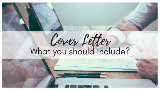 cover letter what should you include - Should You Include A Cover Letter