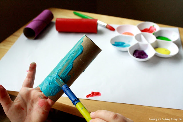 Toilet Roll Dragon Craft - Chinese New Year Crafts for Kids