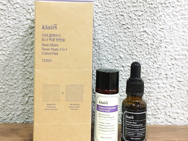 Review: Dear, Klairs Anti-Aging Angel curated kit