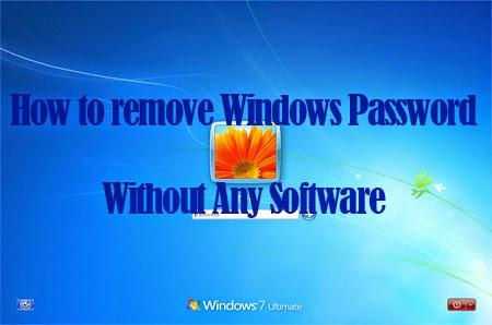 طريقة فك باسوورد الويندوز7 أو فيستا بدون برامج