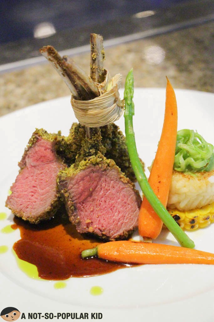 Pure excellence in the Pistachio Crusted Rack of Lamb - The Terrace